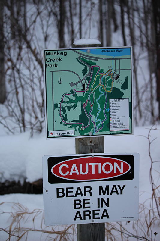 Muskeg Creek Sign
